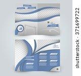 abstract flyer design... | Shutterstock .eps vector #371699722