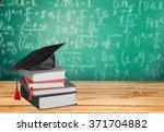 graduation. | Shutterstock . vector #371704882