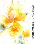 watercolor abstract flower | Shutterstock . vector #37171060
