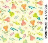seamless floral pattern... | Shutterstock .eps vector #371723956