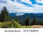 orcas island view of the puget... | Shutterstock . vector #371730892
