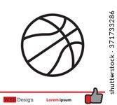 Illustration Of A Basketball...