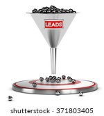 funnel with many metallic... | Shutterstock . vector #371803405