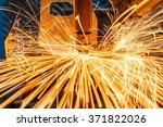 spot welding industrial... | Shutterstock . vector #371822026