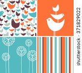 coordinating spring patterns... | Shutterstock .eps vector #371829022