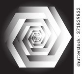 optical illusion of the... | Shutterstock .eps vector #371829832