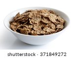 wheat bran breakfast cereal... | Shutterstock . vector #371849272