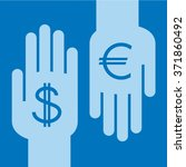 currency exchange | Shutterstock .eps vector #371860492