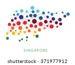 dotted texture singapore vector ... | Shutterstock .eps vector #371977912