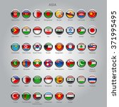 set of round glossy flags of...   Shutterstock .eps vector #371995495