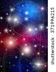 sacred geometry. mathematics ... | Shutterstock .eps vector #371996215