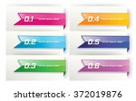 label  tags  stickers  ribbon... | Shutterstock .eps vector #372019876