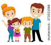 vector illustration set of ... | Shutterstock .eps vector #372021088