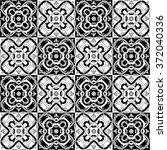 seamless pattern illustration... | Shutterstock .eps vector #372040336