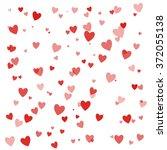happy valentines day background ... | Shutterstock .eps vector #372055138