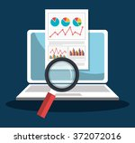 analitycs search information | Shutterstock .eps vector #372072016