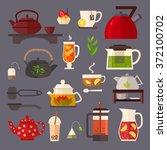 vector concept illustration of... | Shutterstock .eps vector #372100702
