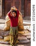 Bhaktapur  Nepal   April 19 ...