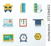 education origami icon design...