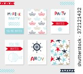 Set Of 6 Cute Creative Cards...