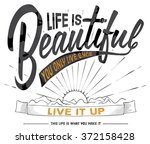 illustration handmade drawing... | Shutterstock .eps vector #372158428