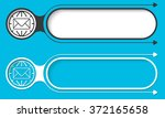 two abstract buttons with... | Shutterstock .eps vector #372165658