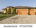 typical southwest florida... | Shutterstock . vector #372167356