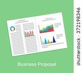 business proposal  business... | Shutterstock .eps vector #372198346