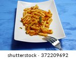 mini ziti pasta with tomato...