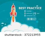 best practice and concept...   Shutterstock .eps vector #372213955
