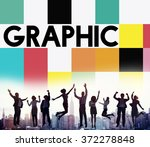 graphic creative design visual... | Shutterstock . vector #372278848