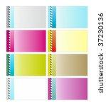 a illustration of 8 nice... | Shutterstock . vector #37230136