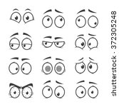 Set Of Cartoon Eyes