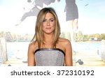 jennifer aniston at the los... | Shutterstock . vector #372310192