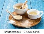 different types of gelatin ... | Shutterstock . vector #372315346