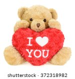 Teddy Bear With Red Heart....