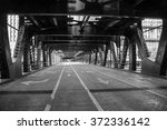 Bridge And Street In Chicago