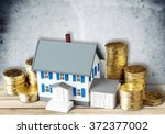 house. | Shutterstock . vector #372377002