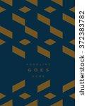 geometric vector background | Shutterstock .eps vector #372383782