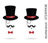 hat cylinder illustration with...   Shutterstock .eps vector #372395938