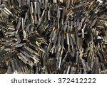 bunches of broken powerful... | Shutterstock . vector #372412222