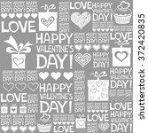happy valentine's day.... | Shutterstock . vector #372420835
