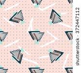 seamless geometrical patterns ... | Shutterstock .eps vector #372447112