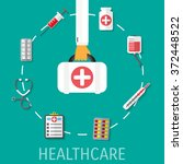 medical equipment web icon...   Shutterstock . vector #372448522