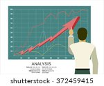 analysis of information on the... | Shutterstock .eps vector #372459415