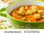 Pumpkin Squash Vegetable Soup...