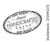 black grunge rubber oval stamp...   Shutterstock .eps vector #372491272