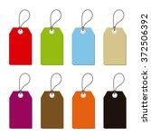 isolated rectangular labels set ...   Shutterstock .eps vector #372506392
