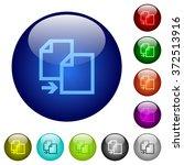 set of color copy glass web...