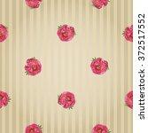 vector imitation flower... | Shutterstock .eps vector #372517552